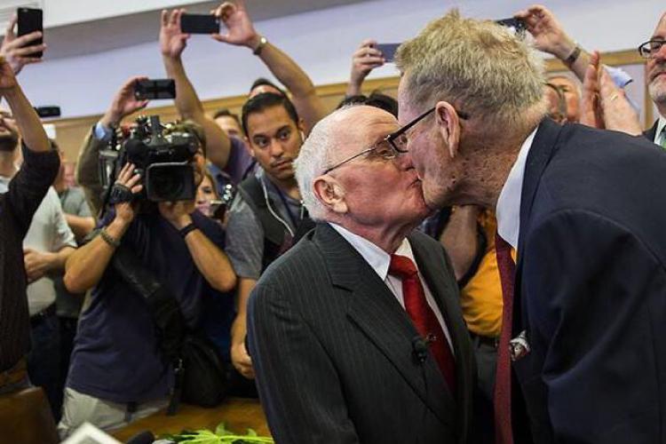 80歳のゲイカップル