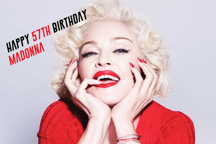 マドンナ誕生日