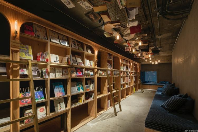 泊まれる本屋1