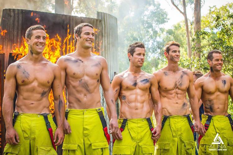消防士のヌードカレンダー