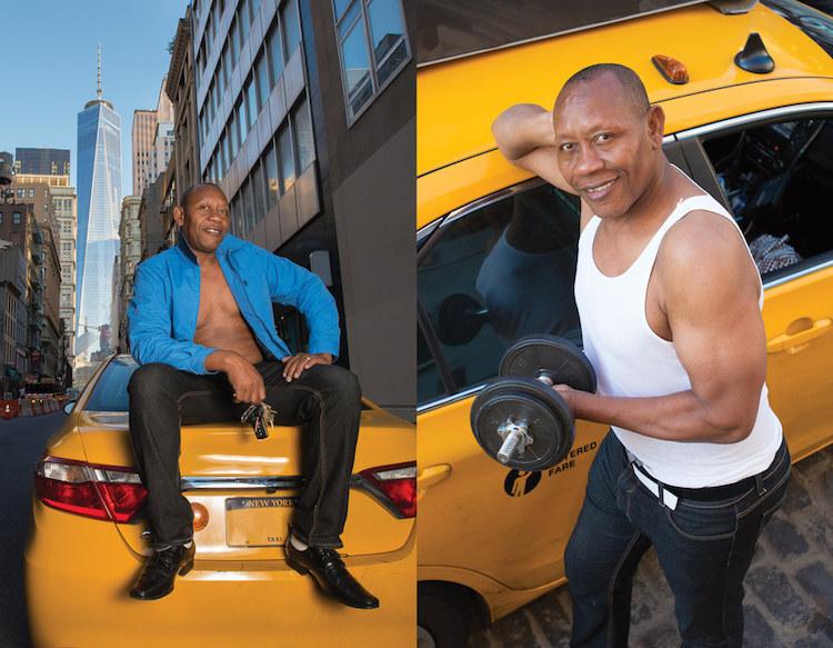 タクシー運転手/カレンダー8
