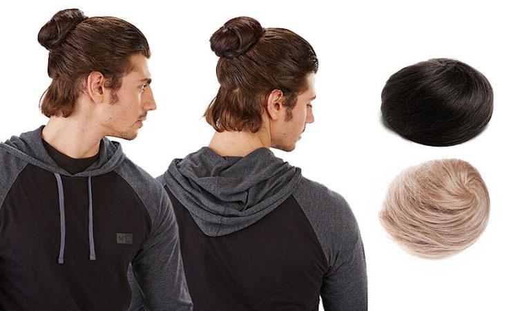 man-bun-hair-trend-fake-clip-on-4