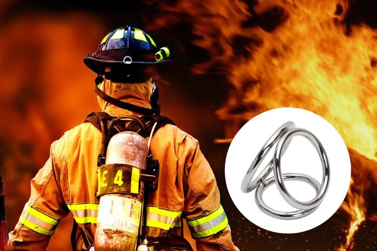 消防士がコックリングの危険性を啓発