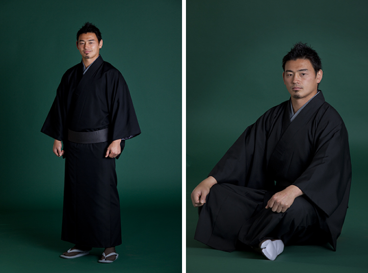 五郎丸の着物