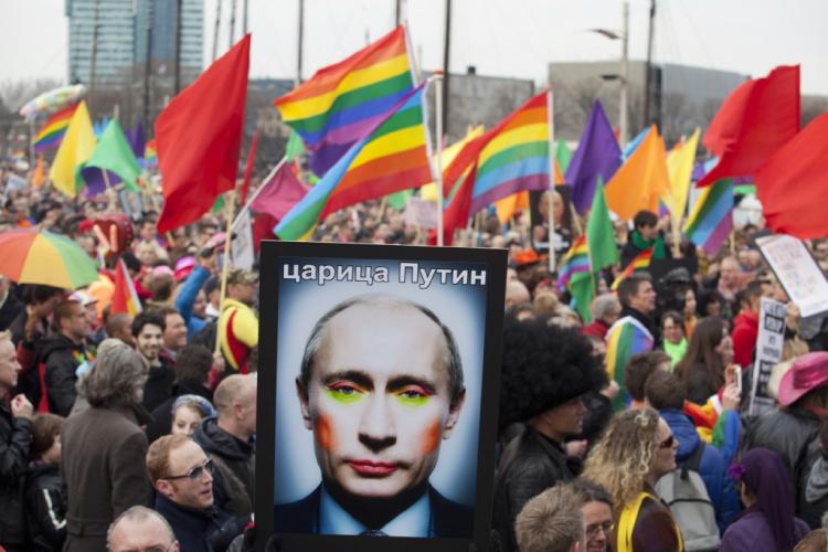 ロシアで新たなアンチゲイ法案