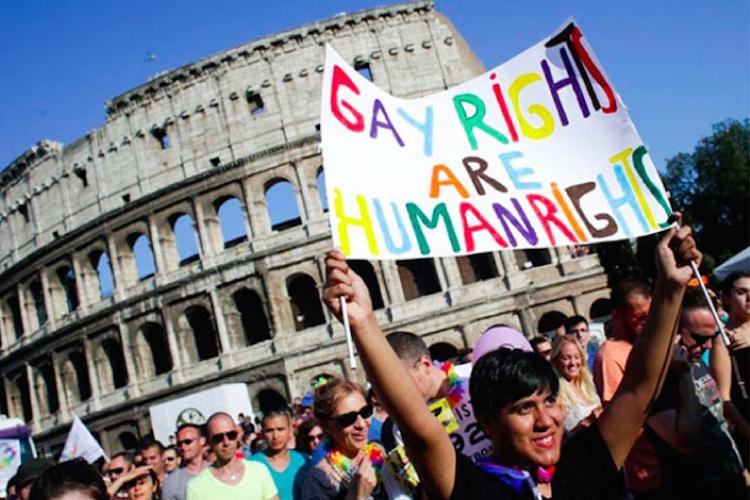 イタリアでパートナーシップ法案が可決