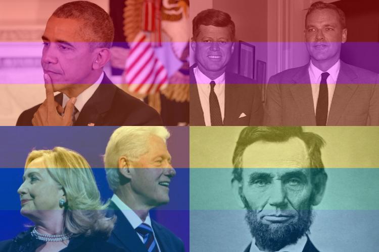 ゲイorバイセクシャルの歴代大統領