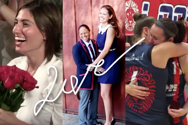 レズビアンカップルのプロポーズ動画