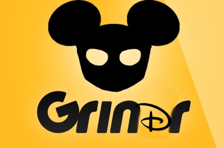 ディズニーキャラがGrindrに