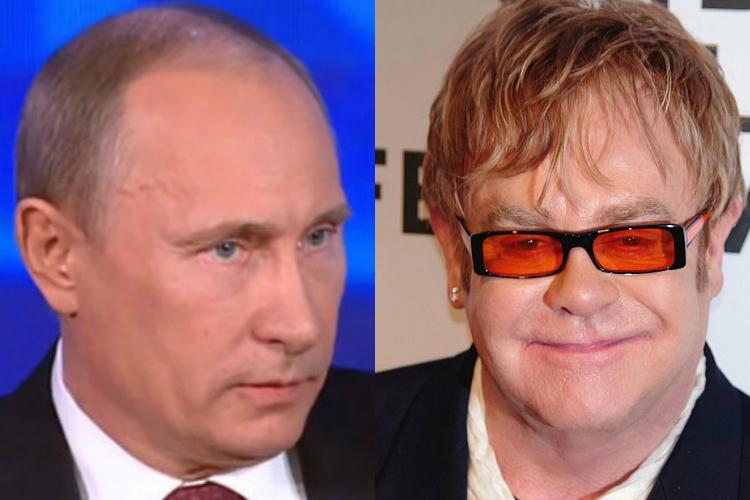 エルトン・ジョン&プーチン
