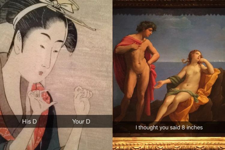 絵画の面白投稿集