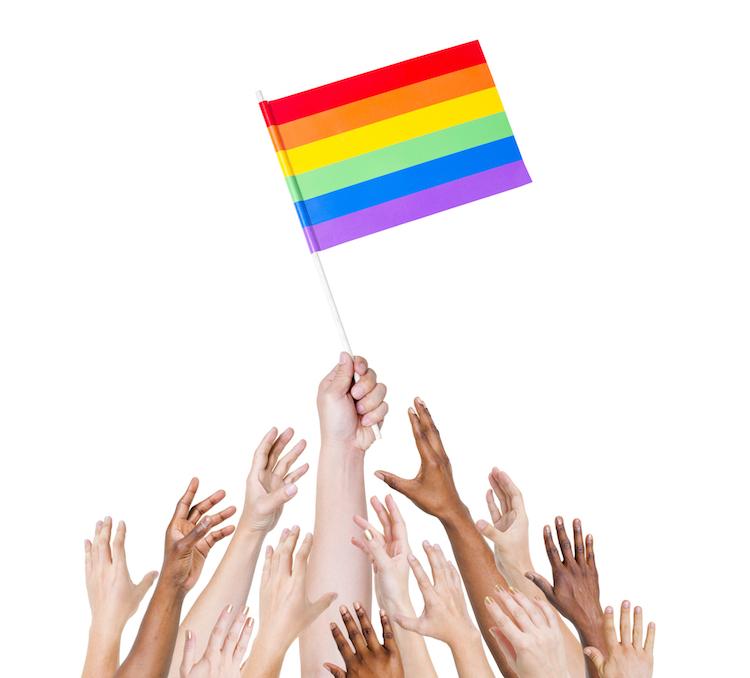 LGBT Flag (C) PIXTA