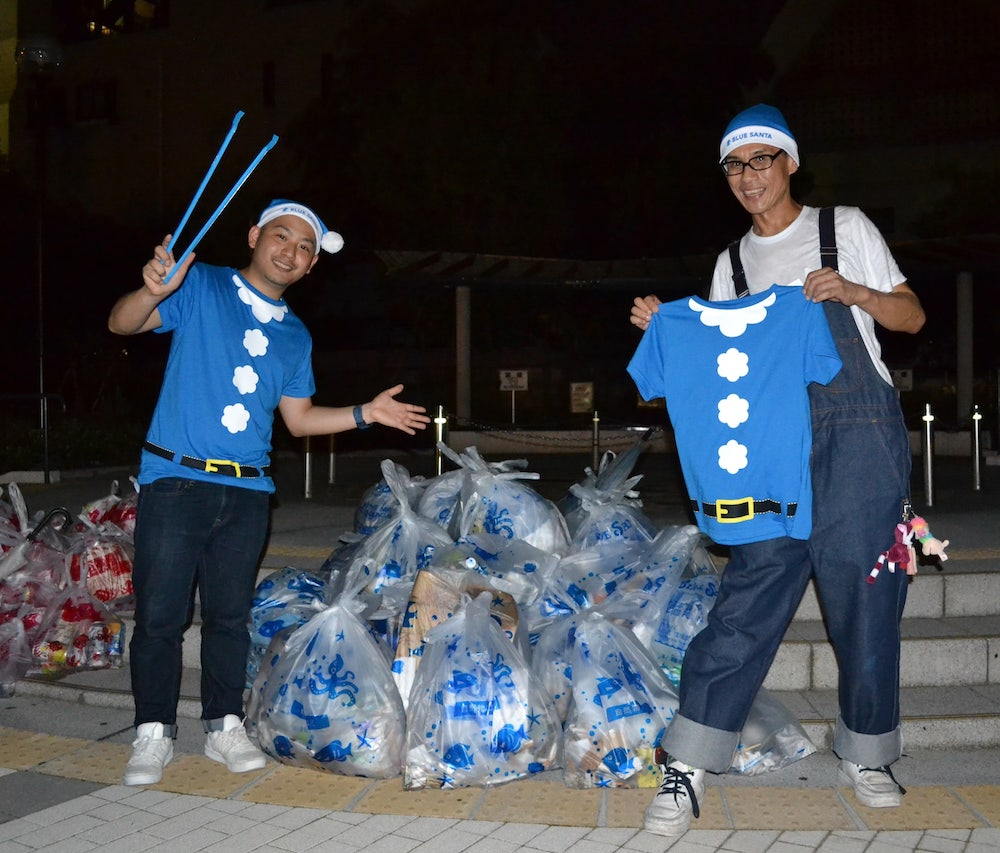 """新宿二丁目のゴミ問題に""""青いサンタ""""が立ち上がる!?「二丁目海さくら」がスタート【GENXY】"""